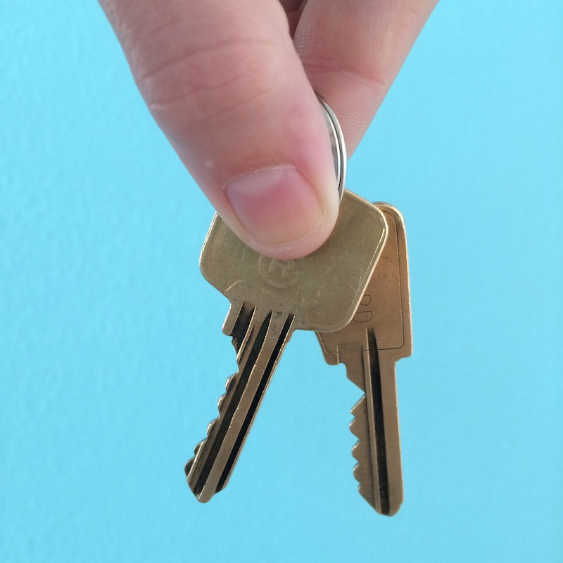 clefs nouvel appart
