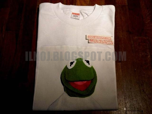 kermit the frog x supreme