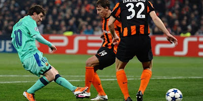 Shakhtar Donetsk Vs Barcelona