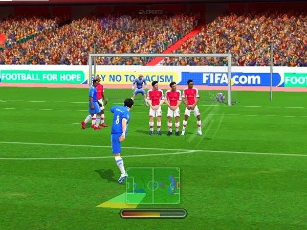 FIFA 14 football game