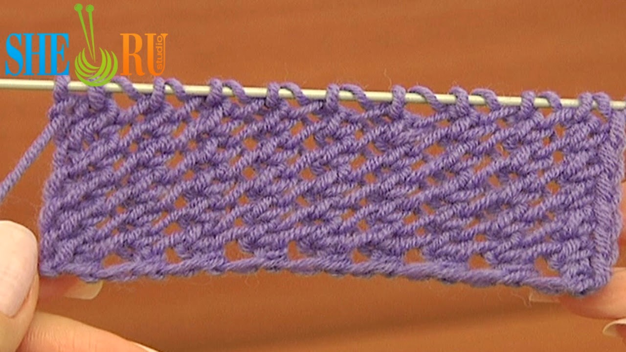Sheruknitting: Knitting Stitch Pattern Tutorial 18