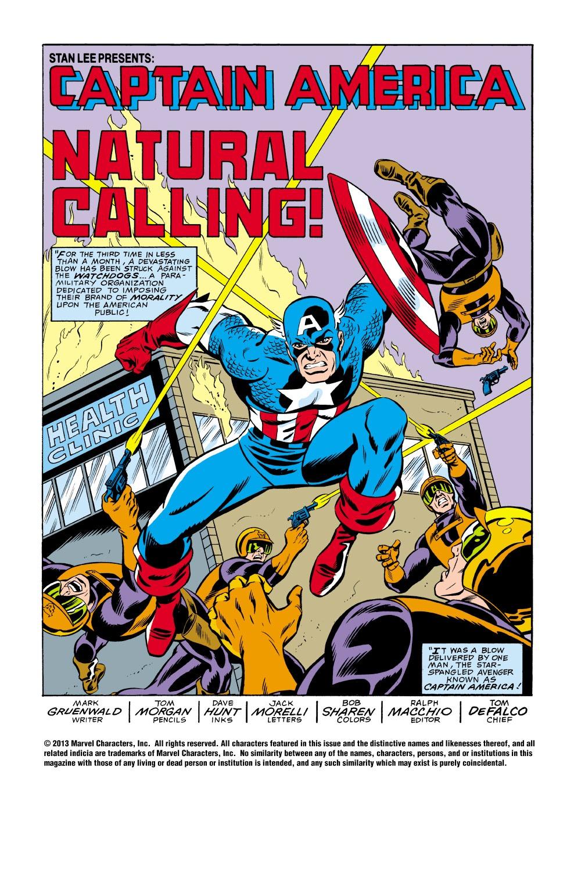 Captain America (1968) Issue #336 #265 - English 2