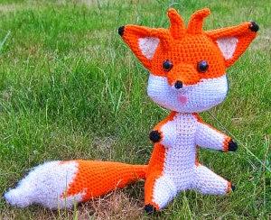 Amigurumi Fox Free Pattern : 2000 Free Amigurumi Patterns: Marty the Fox: free ...
