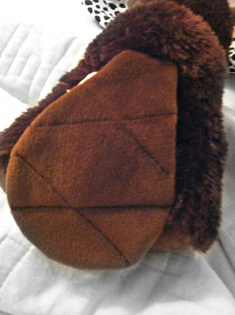 Tail of a toy beaver