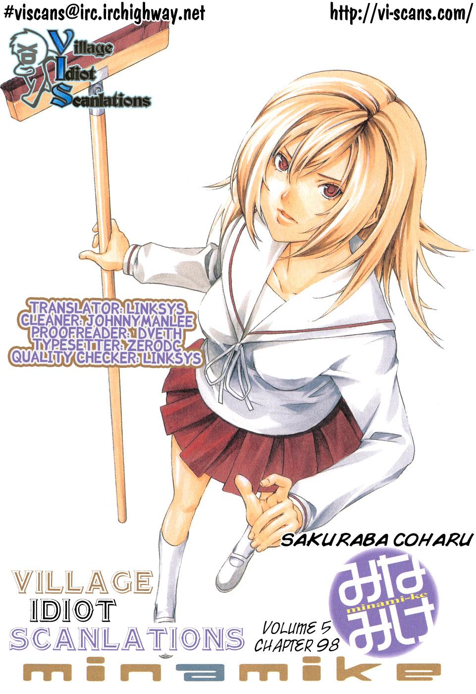 Minami-ke - Chapter 99