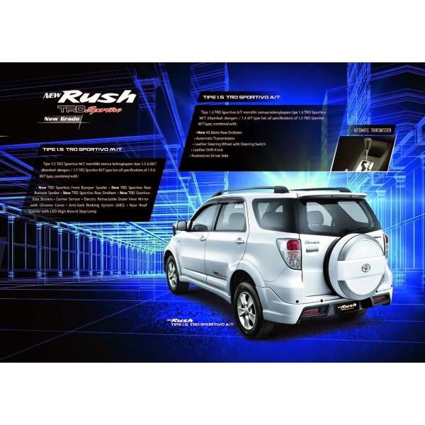 Bodykit Toyota Rush 2011-2014 TRD Style