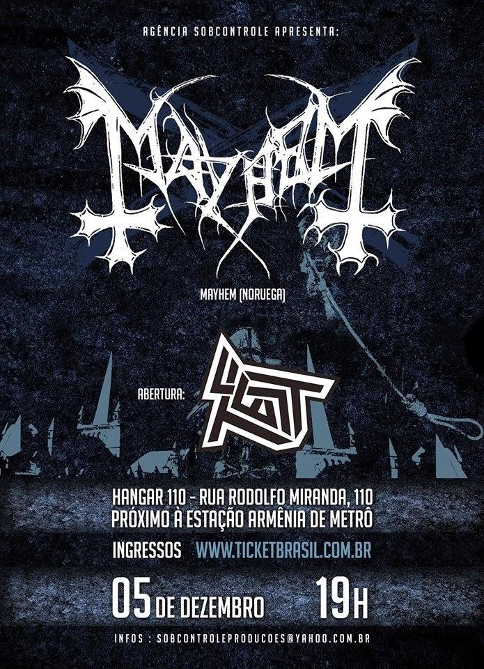 Mayhem no Brasil