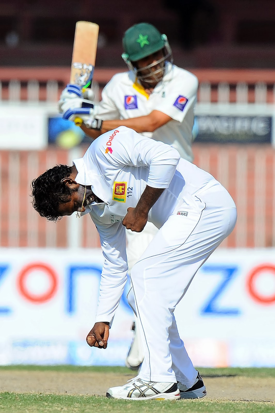 Angelo Mathews, Azhar Ali, Batsman, Captain, Century, Cricket, History, ICC, Level, Match, Misbah-ul-Haq, Pakkstan, Sarfraz Ahmed, Series, Sharjah, Sports, Sri Lanka, Test, UAE, Younis Khan,