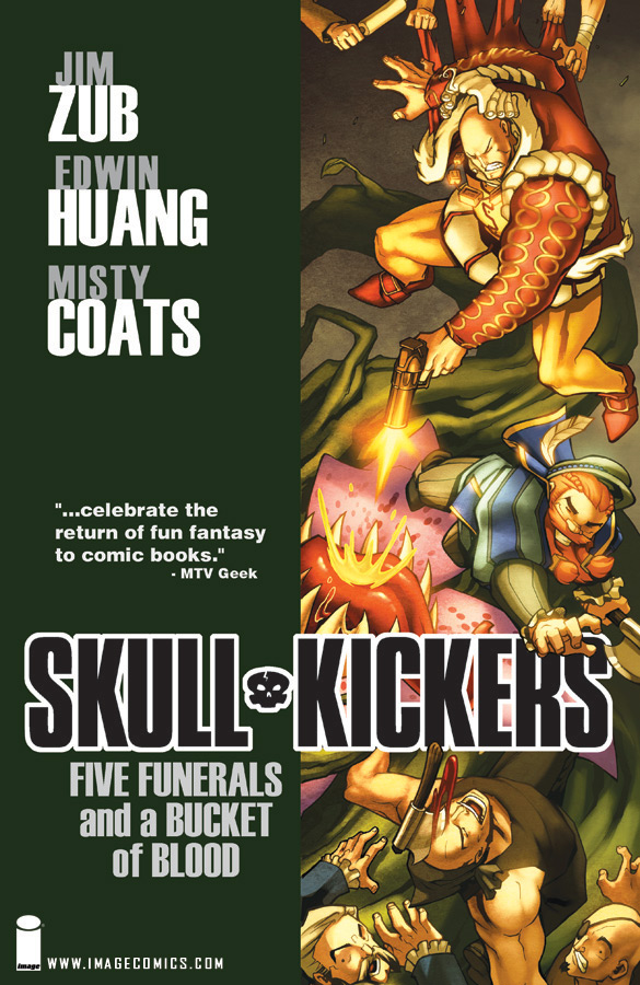 Review: Skullkickers Volume 2 Five Funerals and a Bucket of Blood