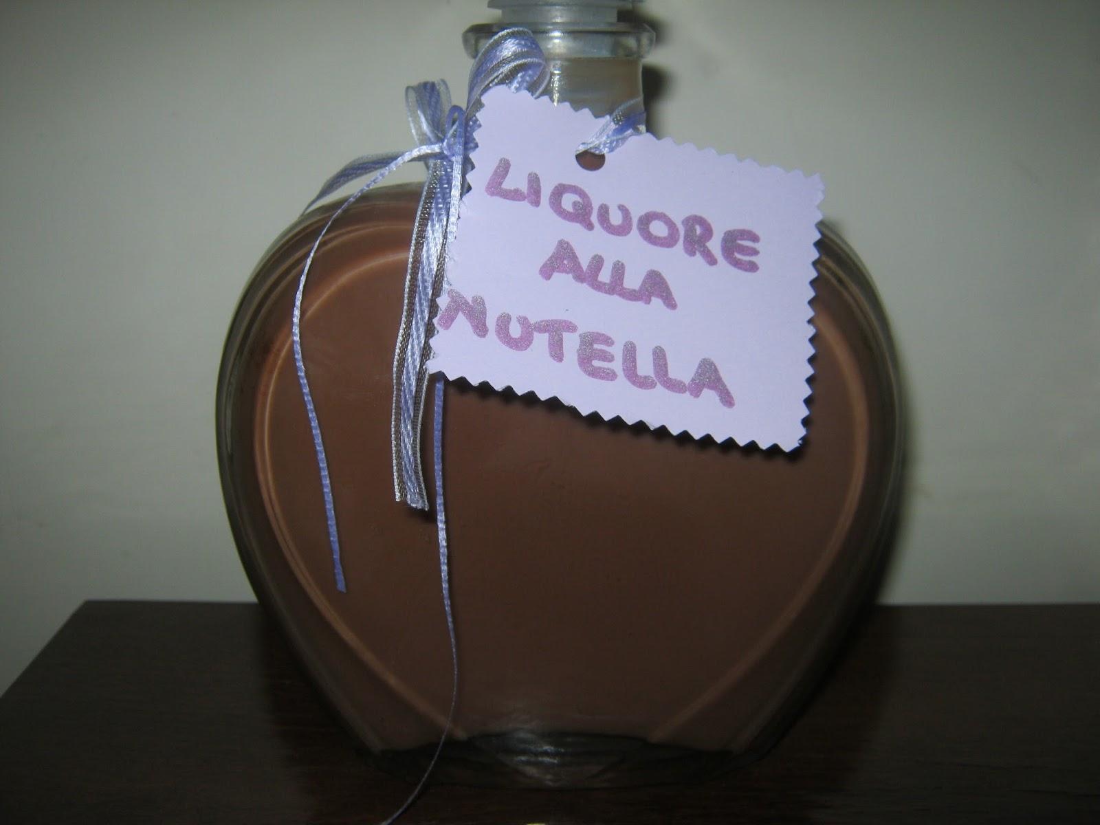 Non Solo Pasticci Liquore Alla Nutella