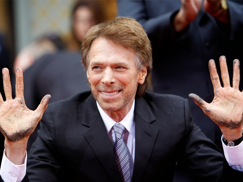 Bruckheimer habla de 'Piratas del Caribe 5', 'Top gun 2' y 'Superdetective en Hollywood 4'