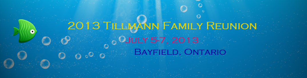 2013 Tillmann Family Reunion