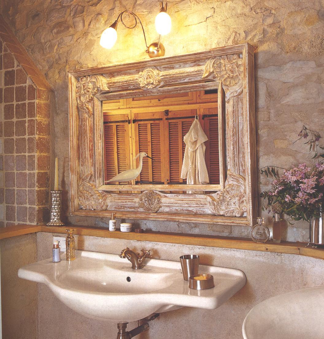 boiserie & c.: bagno: la matericità dello stile provenzale - Arredamento Provenzale Bagno