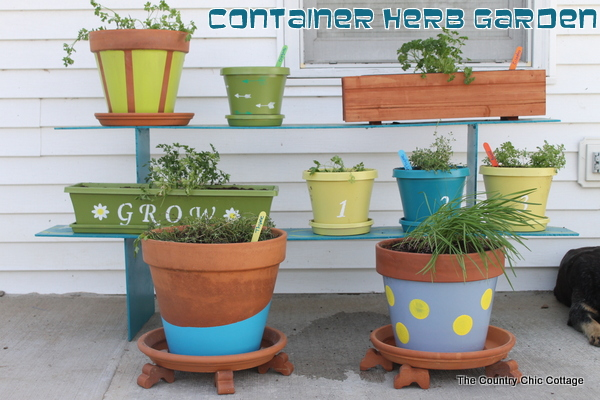 Container Herb Garden Reveal With Homedepot Digin Ad