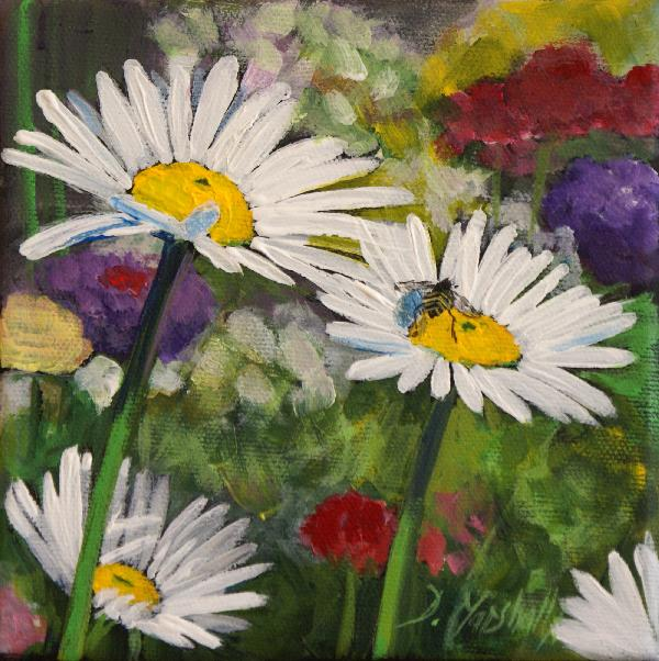Easy Acrylic Flower Paintings On Canvas