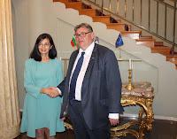 Меглена Кунева и Тимо Сойни