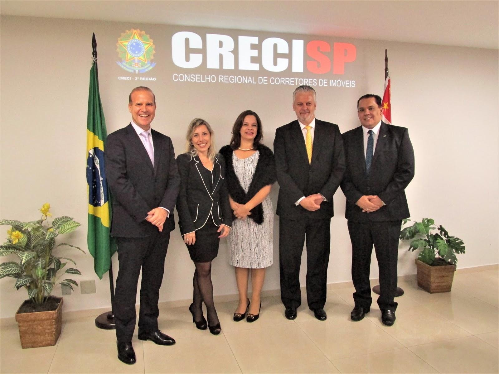 INAUGURAÇÃO DO CEJUSC NO CONSELHO REGIONAL DE CORRETORES DE IMÓVEIS-CRECI/SP EM 16.05.2017;