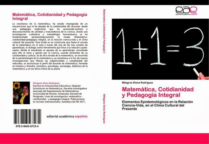Matemática-Cotidianidad- y Pedagogía Integral