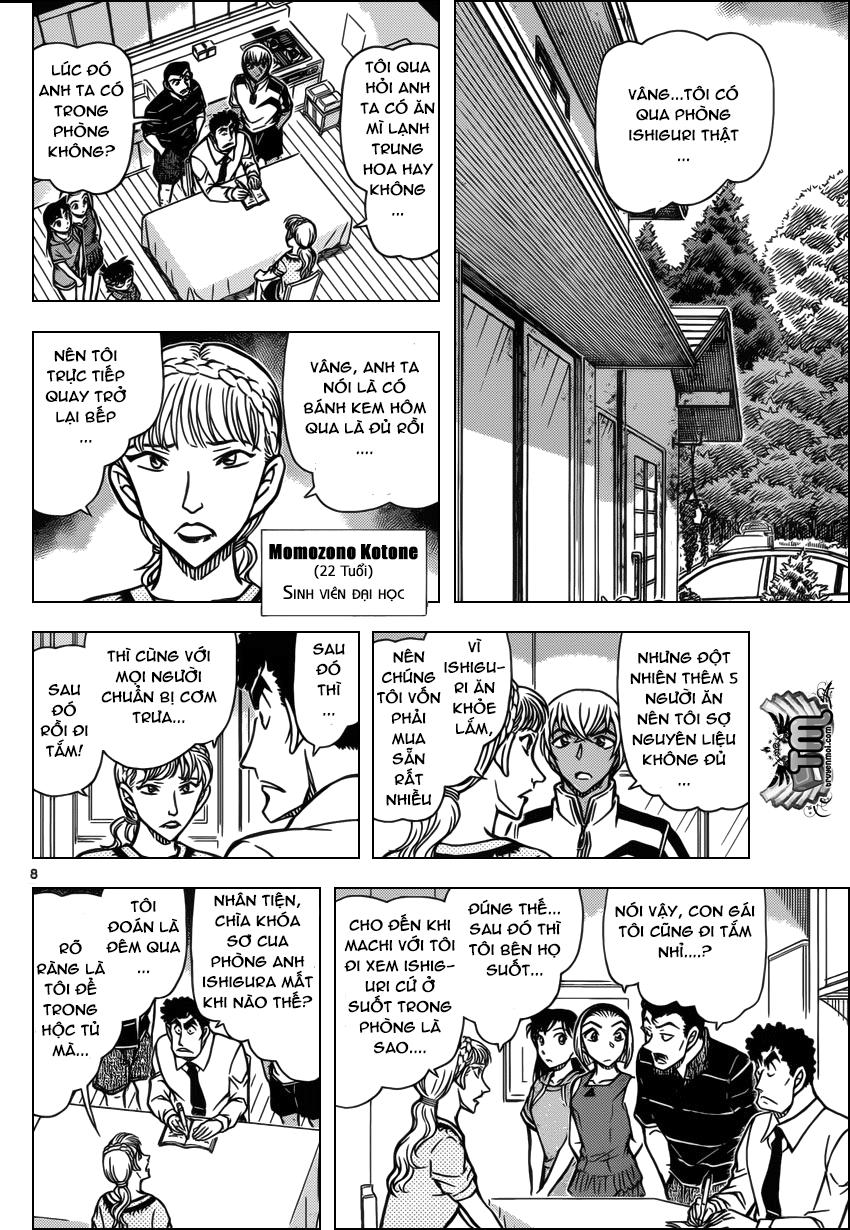 Detective Conan - Thám Tử Lừng Danh Conan chap 826 page 8 - IZTruyenTranh.com