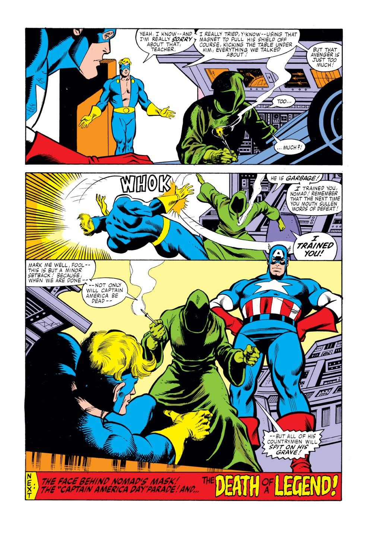 Captain America (1968) Issue #261 #176 - English 23