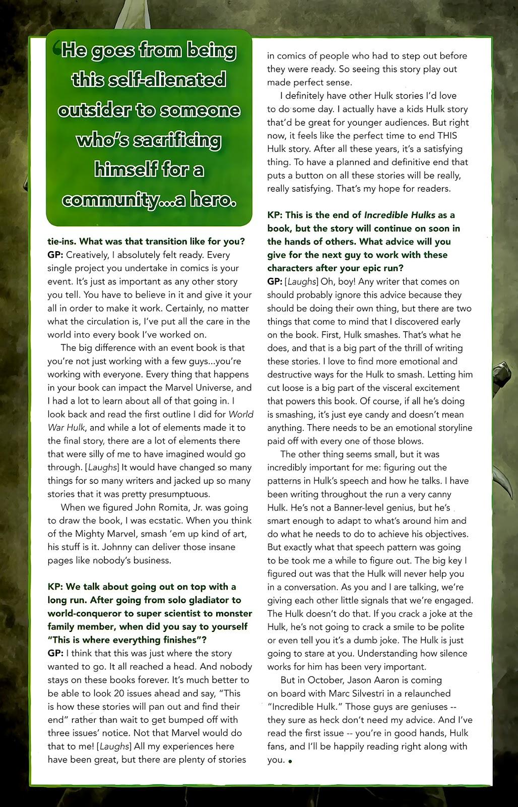 Incredible Hulks (2010) Issue #635 #25 - English 41