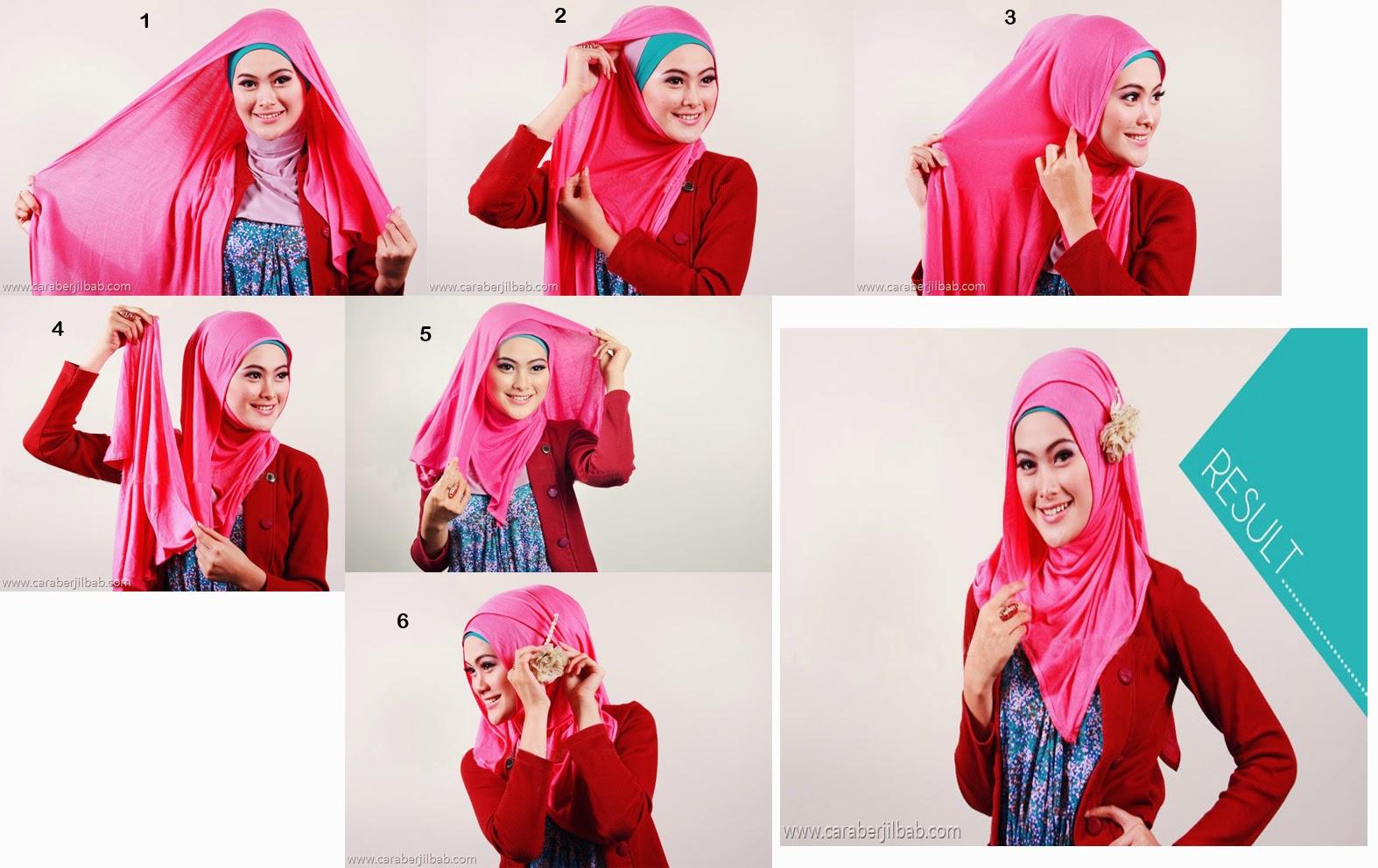 Tutorial Hijab Modern Simple Untuk Kuliah Cara Memakai Jilbab