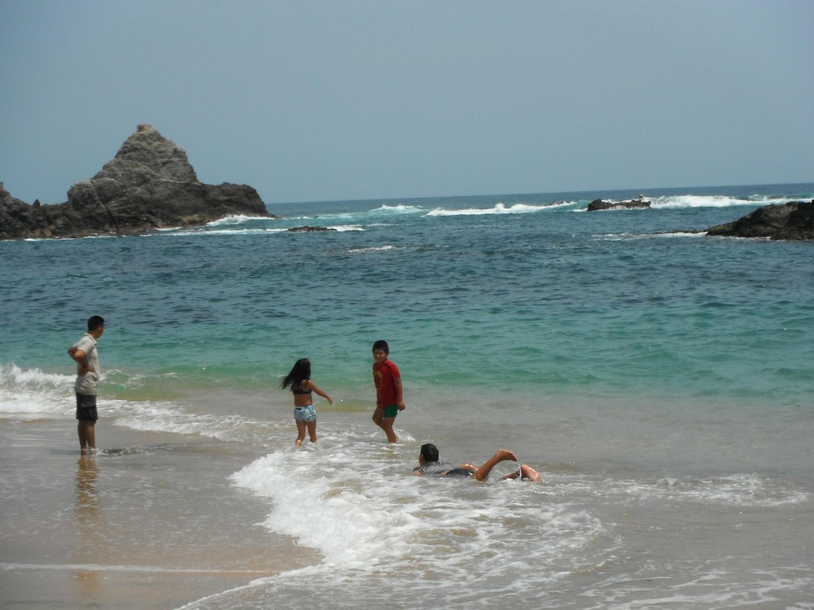 Ecoturismo m xico playa mazunte santa mar a tonameca for En zacatecas hay playa