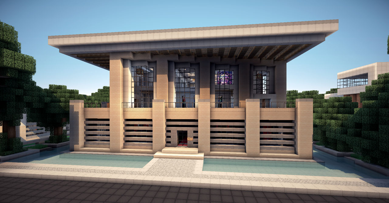 Locominecraft mayo 2013 for Casa moderna 6 parte 2