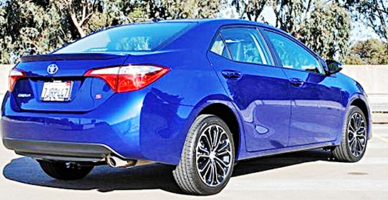 2016 Toyota Corolla Coupe for Canada