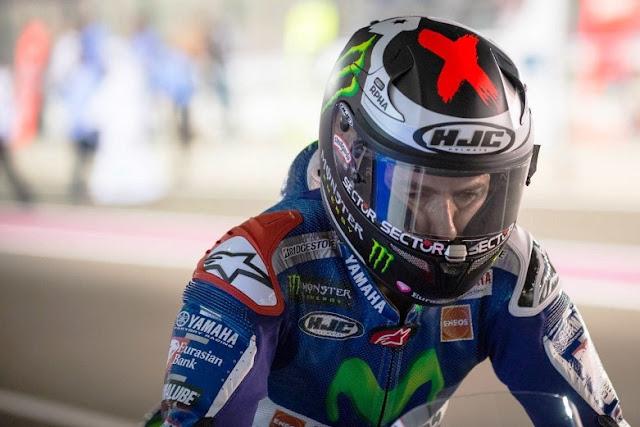 Helm HJC tak lagi jadi sponsor Lorenzo? . . cuma gosip doang sob . .