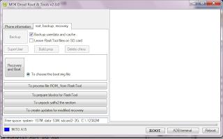 MTKDroid Tool & Root v.2.3.0