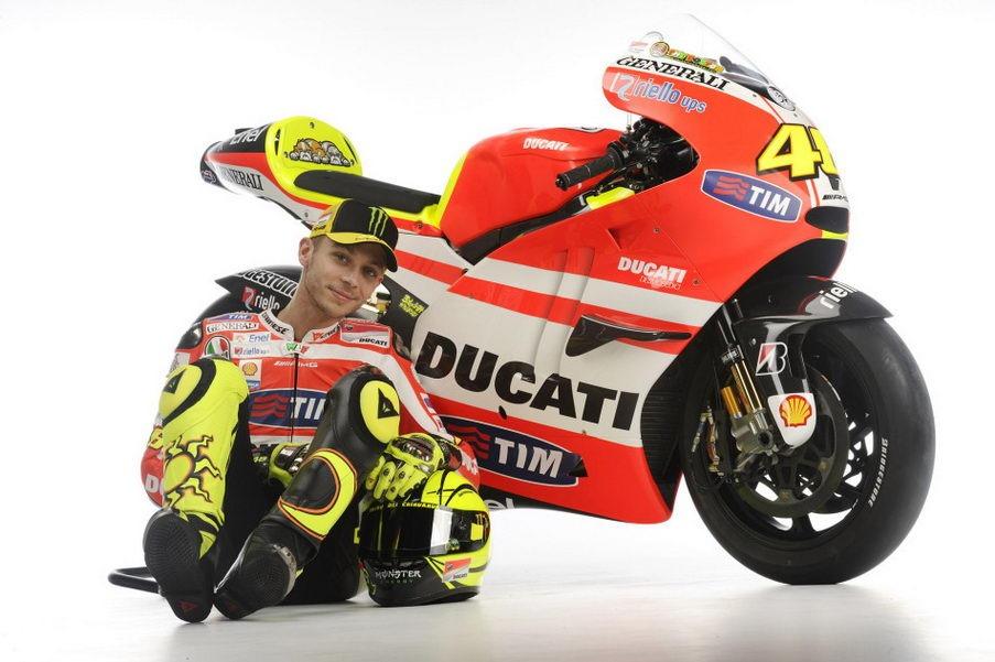 valentino rossi 2011 ducati. 2011 Ducati Desmosedici GP11