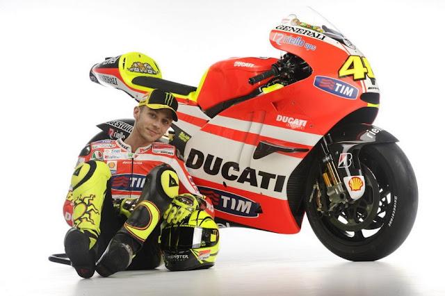2011 Ducati Desmosedici GP11 Valentino Rossi