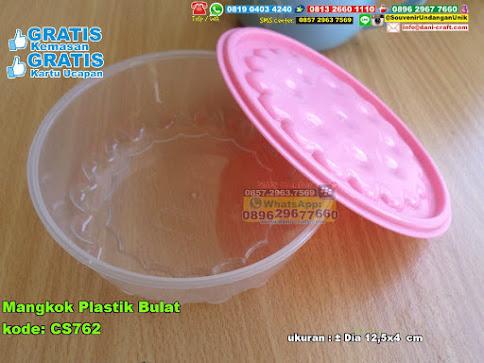 Mangkok Plastik Bulat
