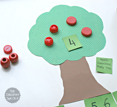 Apple Themed Math for Kids