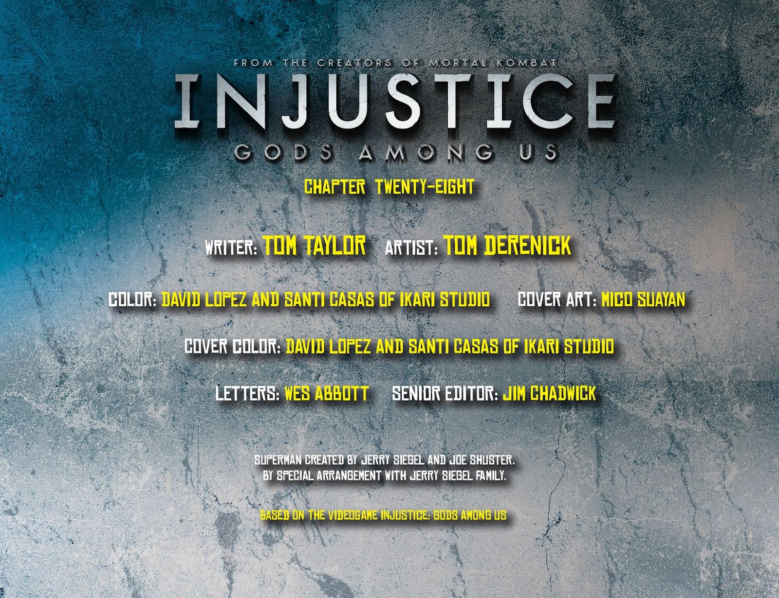 Injustice: Gods Among Us [I] Issue #28 #29 - English 2