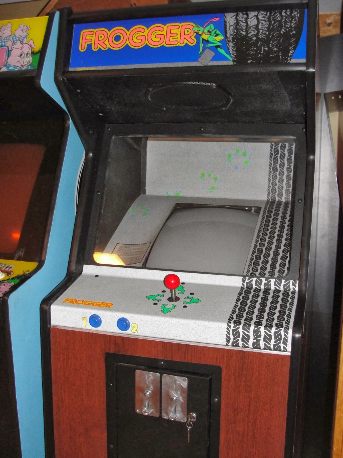 Guscade Sega Gremlin Konami Frogger 1981