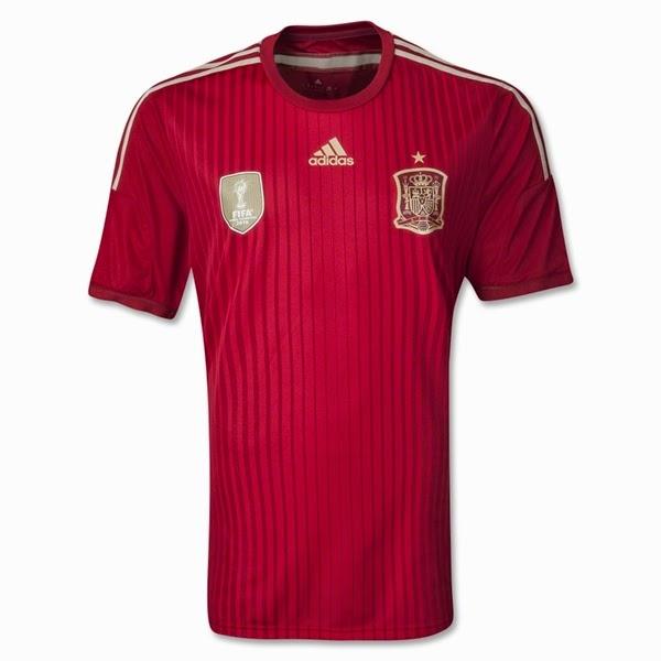 Jersey Negara Spanyol - Piala Dunia 2014