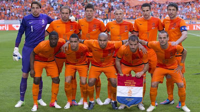 Skuad Belanda Euro 2012