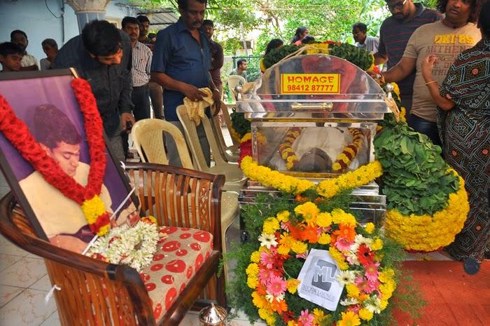 Mandolin U Srinivas Passed Away Photos