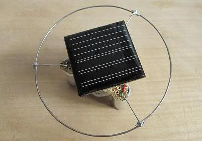 Solar Top Robot
