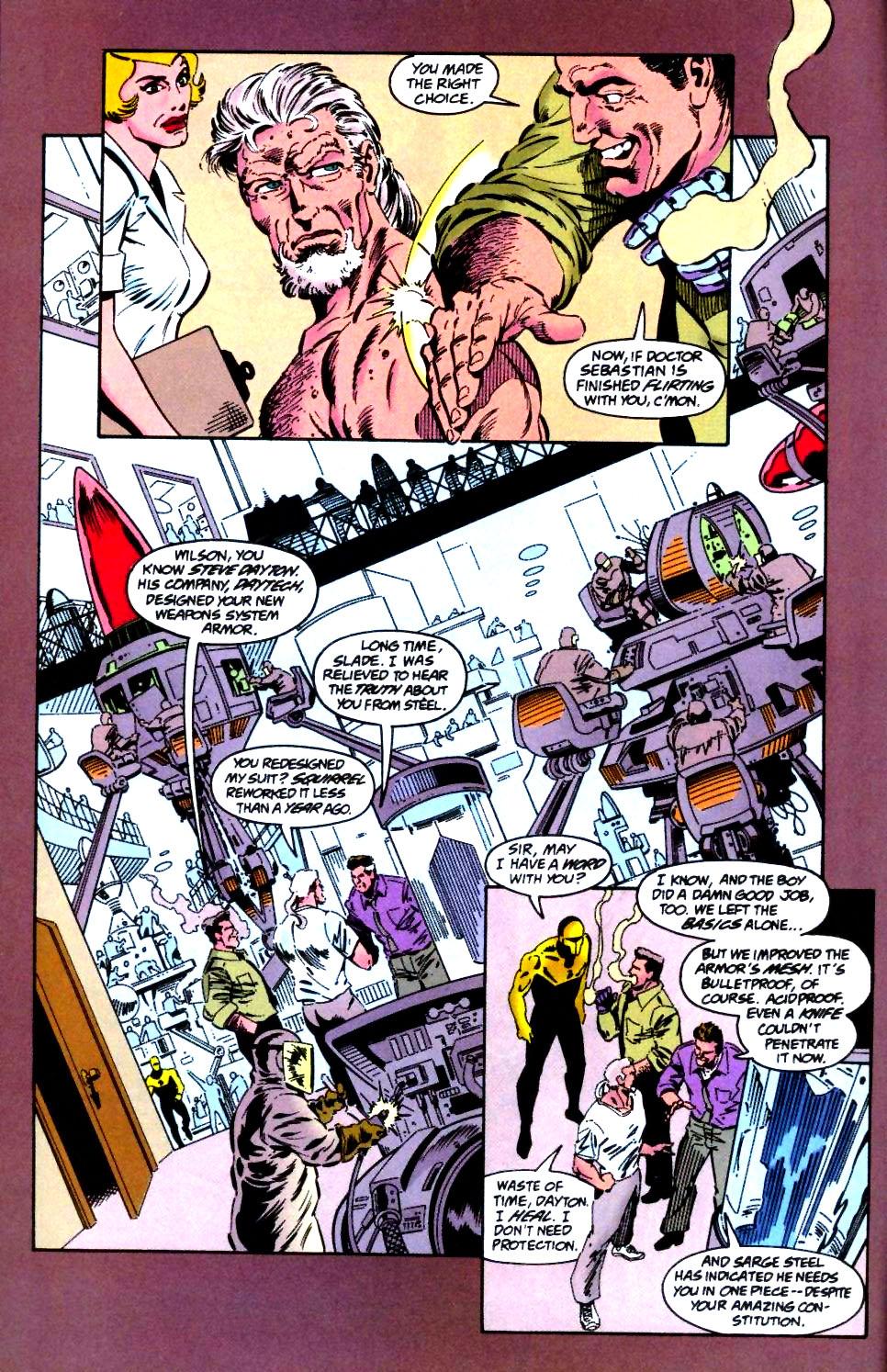 Deathstroke (1991) Issue #47 #52 - English 7