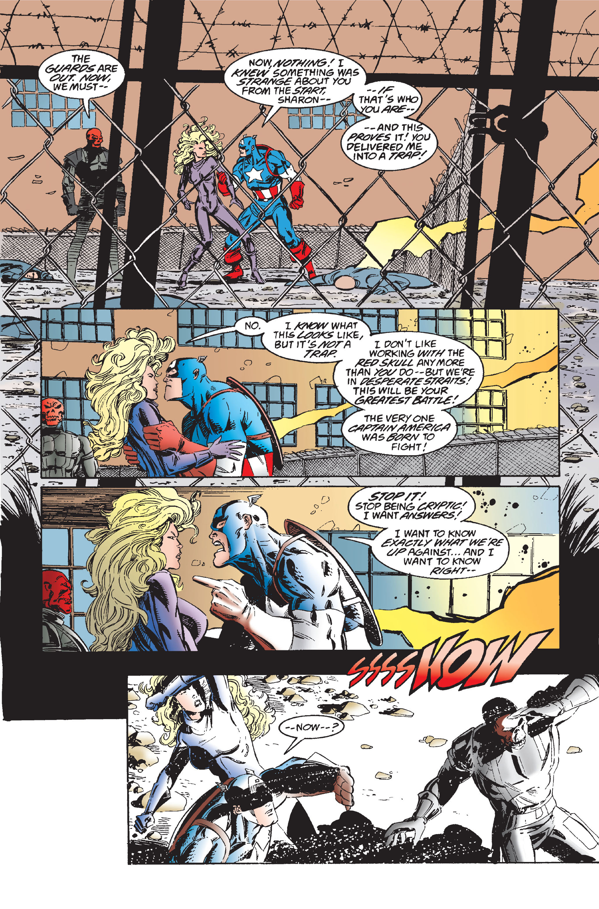 Captain America (1968) Issue #445 #399 - English 20