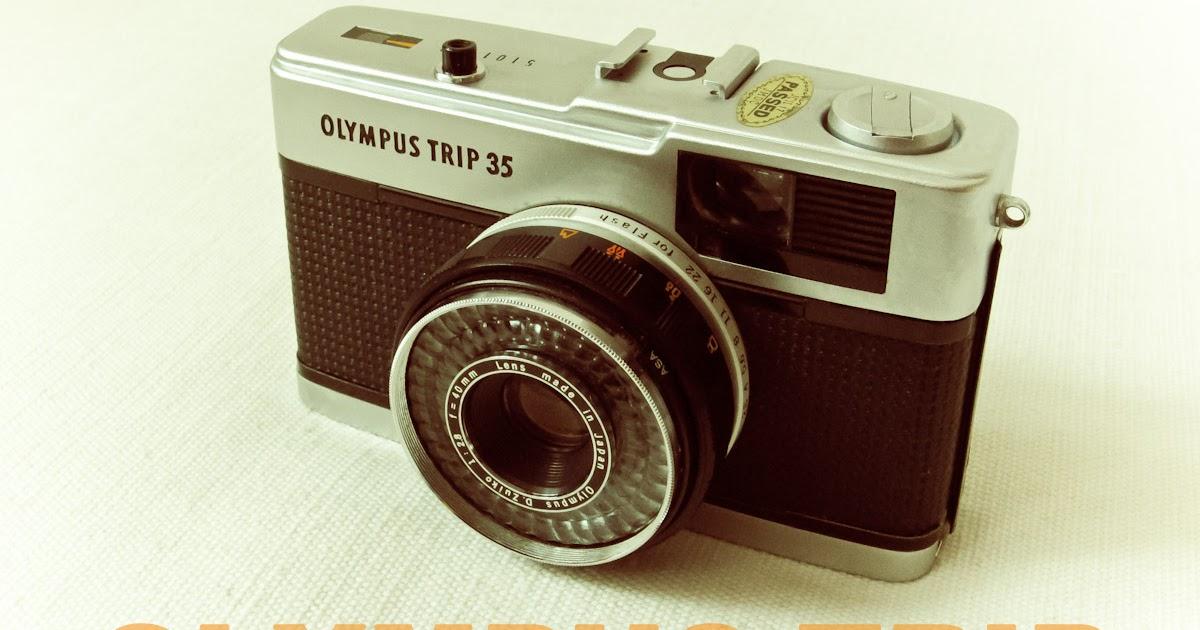 Reino Unido distribuidor Vintage Olympus Trip 35 Tapa frontal del objetivo