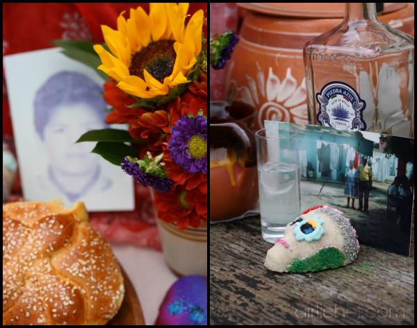 Dia de Los Muertos Ofrenda + Basic Sugar Skulls Tutorial | www.girlichef.com