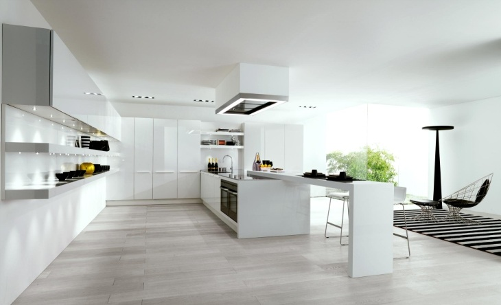 decoracao de interiores cozinha moderna: maedra às 00 09 marcadores cozinha branca cozinhas cozinhas modernas