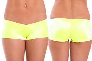 Neon  Booty Shorts