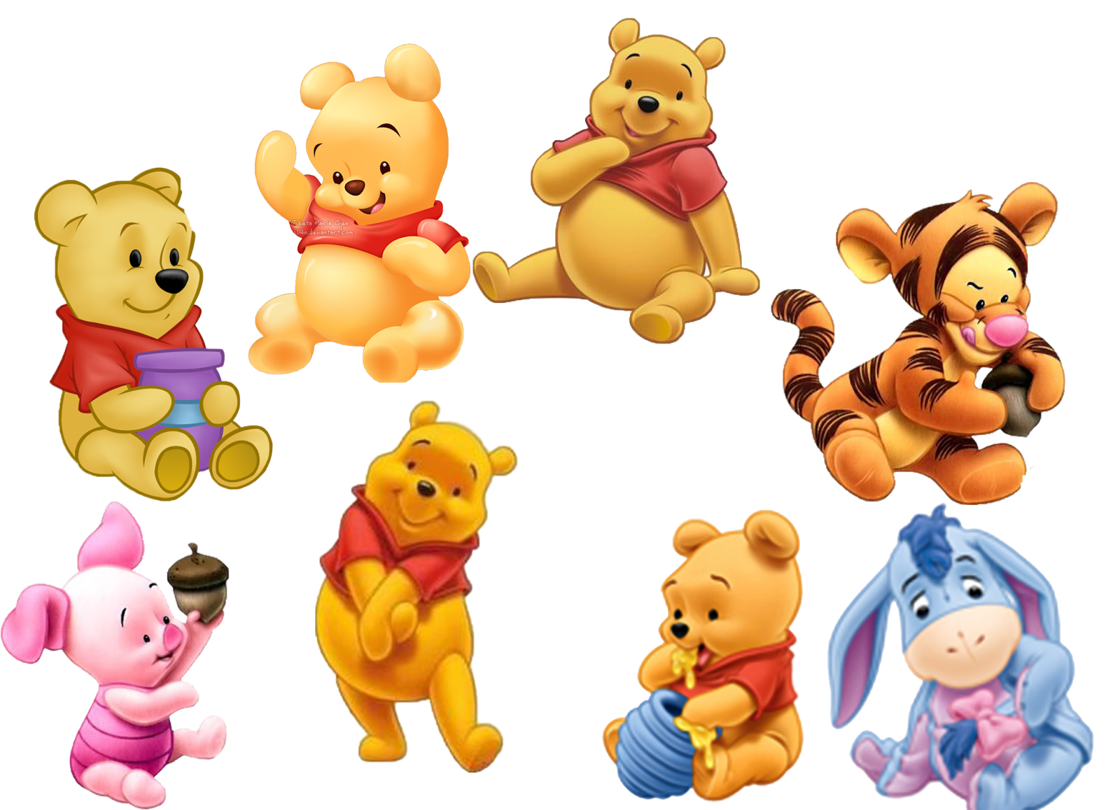 Gallery For gt Baby Winnie The Pooh And Friends Pictures