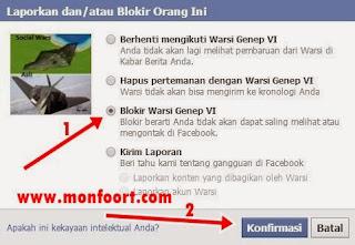 Tutorial Memblokir Orang Di Facebook