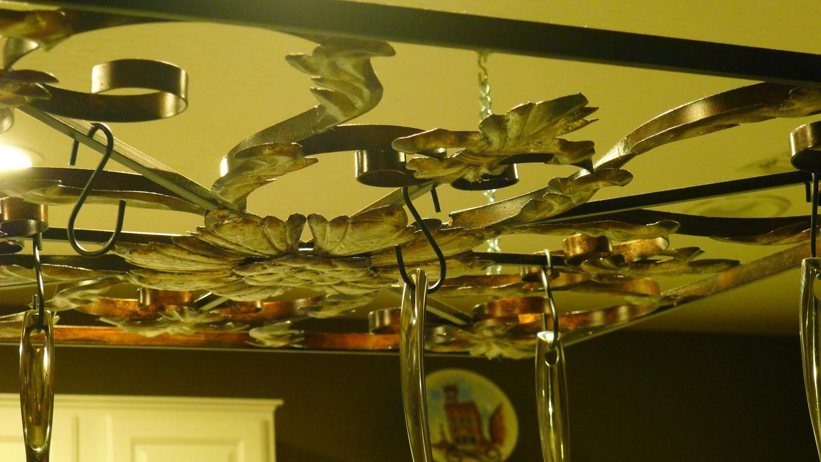Idea Bottle: Pot Rack from Art?